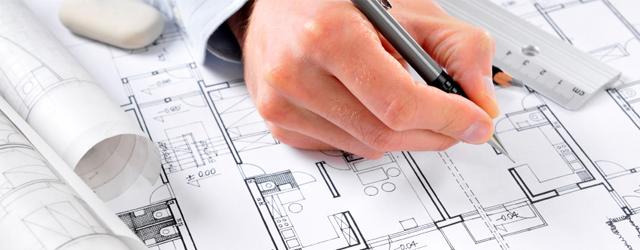 Skitsetegninger til arkitekttegnet Future House