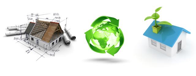 Tre aspekter af bæredygtigt byggeri