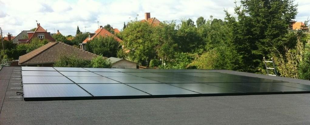 Future House med solceller